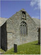 Crantock Church, Cornwall