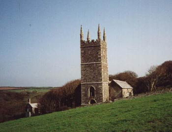Morwenstow Church, Cornwall
