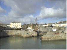 Charlestown, Cornwall, harbour