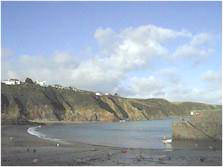 Gorran Haven beach Cornwall
