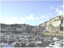 Mevagissey, Cornwall harbour
