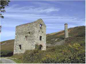blue hills tin mine cornwall